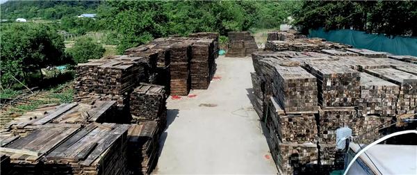古森红木原材料生产基地